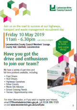 Highways, Transport and Waste Management Recruitment Day